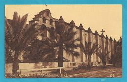 San Gabriel Mission, California - Vintage Postcard [#3749] - United States