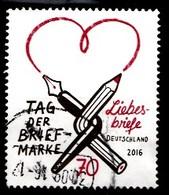 Bund 2016  Mi.nr.:3259 Tag Der Briefmarke  Gestempelt / Oblitérés / Used - [7] République Fédérale