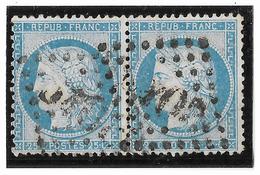 TIMBRES N°60/1 ;  PAIRE  81/82  G3   ;   ; TTB - 1871-1875 Cérès