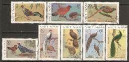 Vietnam 1979 Mi# 1044-1051 Used - Ornamental Birds - Vietnam