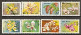 Vietnam 1979 Mi# 1055-1062 Used - Orchids - Viêt-Nam