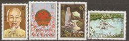 Vietnam 1980 Mi# 1128-1131 Used - Republic Of Vietnam, 35th Anniv. - Vietnam