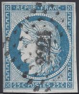 FRANCE 1849 CERES 25c Nº 4 - 1849-1850 Cérès