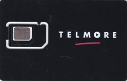 Denmark, GSM Frame With Chip, Telmore, 2 Scans - Dänemark