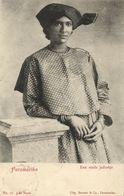Suriname, PARAMARIBO, City Lady In Traditional Dress (1899) Postcard - Surinam