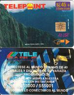 """PERU - Machu Picchu/Cuzco 2(puzzle 2/4, Reverse """"TeleCable""""), Tirage 8500, Used - Peru"""