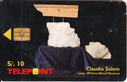 PERU - Claudia Salem, Tirage 50000, 05/99, Used - Peru