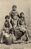 Suriname, Native Caribbean Sisters, Necklace Jewelry (1910s) Postcard - Surinam