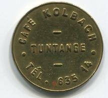 Luxembourg - Jeton Café Kolbach Tuntange - - Tokens & Medals