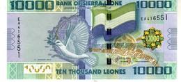 Sierra Leone P.33 10000 Leoens 2013  Unc - Sierra Leone