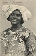 Suriname, Beautiful Woman In Traditional Dress (1910s) Postcard - Surinam