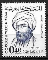 MAROC     -    1966 .  Y&T N° 508 *.   Ibn Batota - Morocco (1956-...)