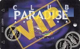Paradise Casino - Yuma AZ - BLANK VIP Slot Card - Casino Cards