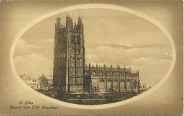 FLINTSHIRE - ST GILES CHURCH FROM SW WREXHAM Clw18 - Flintshire