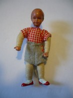 Puppenstuben Biege-Puppe - Bayrischer Bub (628) - Puppen