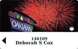 Oaklawn Park - Arlington AR - Racetrack / Casino Slot Card - Casino Cards