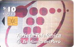 PERU - Tejemos Una Red De Comunicacion Para Tí, Telefonica Telecard, Chip GEM1.1, 11/97, Used - Peru