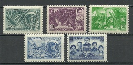 RUSSIA Soviet Union 1943/44 Michel 860 - 864 MNH - 1923-1991 URSS
