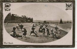 FLINTSHIRE - RHYL -  BEACH  Clw121 - Flintshire