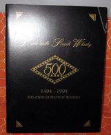 L'ARTE DELLO SCOTCH WHISKY 1496 - 1994 500 YEARS BROCHURE - Alcolici