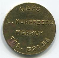 Luxembourg - Jeton Café L. Nurenberg MERSCH - - Tokens & Medals