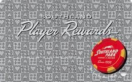 Southland Park Gaming - W. Memphis, AR - BLANK Slot Card - Casino Cards