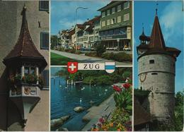 Zug - Erker In Der Altstadt, Vorstadt, Am Quai, Kapuzinerturm - Photoglob - ZG Zoug