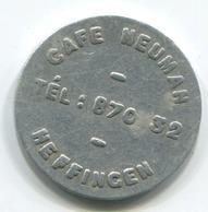 Luxembourg - Jeton Café Neuman - HEFFINGEN - Tokens & Medals