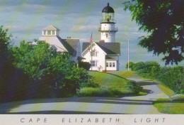 Maine Portland Cape Elizabeth Lighthouse - Portland