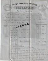 LETTRE - FACTURE Et Billet à Ordre -  1875 - 18 - SANCERRE - Fabrique De Draperie CROSES - NEE - NERONDES - 1800 – 1899
