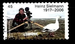 Bund 2017  Mi.nr.:3319 Geburtstag Heinz Sielmann  Gestempelt / Oblitérés / Used - [7] République Fédérale