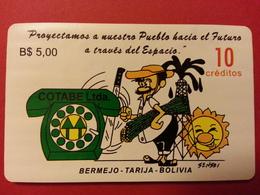 Bolivia COTABE Mai/97 Daruma URMET 10u Green Telephone Test Inductive BOLIVIE BOLIVIEN Mint Unused Neuve (CB1217) - Bolivie
