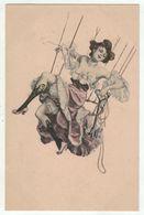 Illustrateur à Définir M.M. Vienne No.105 // Beauté Féminine, Froufrou - Künstlerkarten