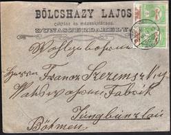 Hungary Dunaszerdahely 1914 / Slovakia Dunajska Streda / Bolcshazy Lajos - Confectioner And Gingerbread / 2/5 Fl - Ungarn