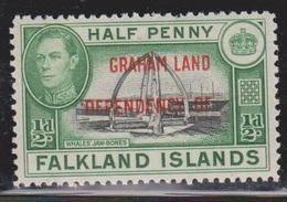 FALKLAND ISLANDS DEPENDENCIES Scott # 2L1 MH - KGVI - Falkland Islands