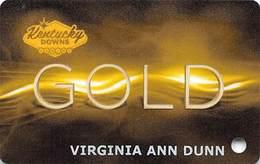 Kentucky Downs - Franklin KY - Racetrack / Casino Slot Card - Casino Cards