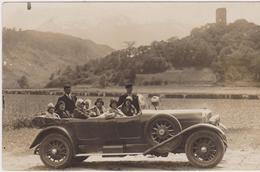 Autobus, Souvenir De Gavarnie Du 22 Mai 1931, Carte-photo - Gavarnie