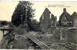 59  BERLAIMONT   VUE PRISE DU PONT  GUERRE MONDIALE 1914 1918 - Berlaimont
