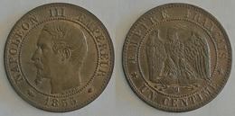 1 CENTIME NAPOLEON III 1855 Ma   (voir Scan) - Francia