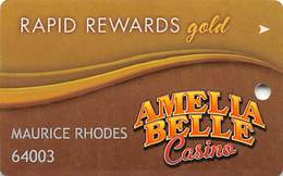 Amelia Belle Casino - Amelia LA - Slot Card - Large Logo - Casino Cards