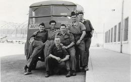 Photo D'un Camion Auto-école Militaire De 1955 - Camions & Poids Lourds
