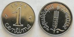 1 CENTIME EPI 1994 FDC BU (voir Scan) - France