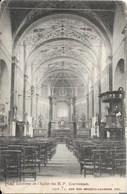 HALLE (1500) : HAL - Intérieur De L'Église Des R. P. Conventuels. CPA Précurseurs. - Halle