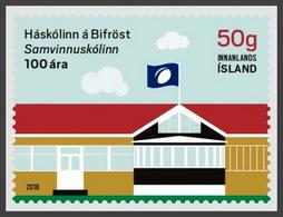 H01 Iceland 2018 Bifrost University-Cooperative College MNH ** Postfrisch - 1944-... Republique