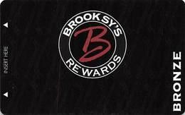 Brooksy's - Las Vegas, NV - BLANK Pub / Casino Slot Card - Casino Cards
