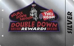 Double Down Saloon & Frank's Tiki Room - Las Vegas, NV - BLANK Pub / Casino Slot Card - Casino Cards
