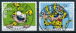 1567-1568 / 2414-2415 Serie Mit Vollstempel BASEL, CHUR - Schweiz