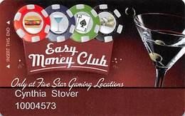Five Star Tavern - Las Vegas, NV - Pub / Casino Slot Card - Casino Cards