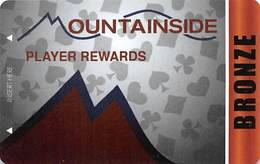 Mountainside - Las Vegas, NV - BLANK Pub / Casino Slot Card - Casino Cards