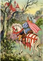 LA BELLA ADDORMENTATA  SLEEPING BEAUTY  BELLE AU BOIS DORMANT  Principe A Cavallo Si Apre Varco Per Arrivare Al Castello - Fiabe, Racconti Popolari & Leggende